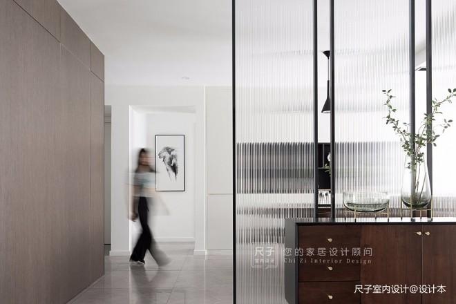 【尺子室内设计】清风朗月——玄关图片