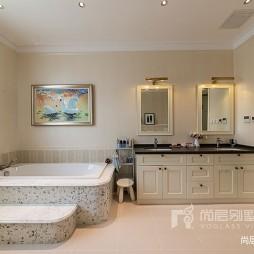 轻奢美式风格——卫生间图片