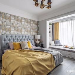 125平米美式经典——卧室图片