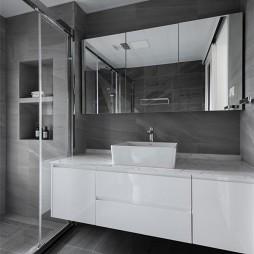 160平米现代简约——卫生间图片