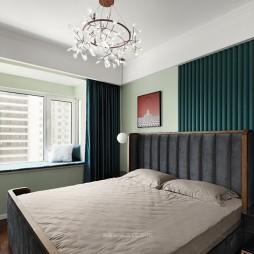 123平米现代简约——卧室图片