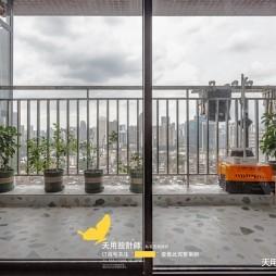天用|两房完美改三房——阳台图片