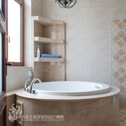 别墅装修设计,山语觅林处,安之静好——卫生间图片