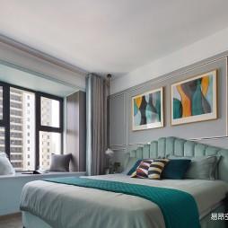 108平米现代简约——卧室图片