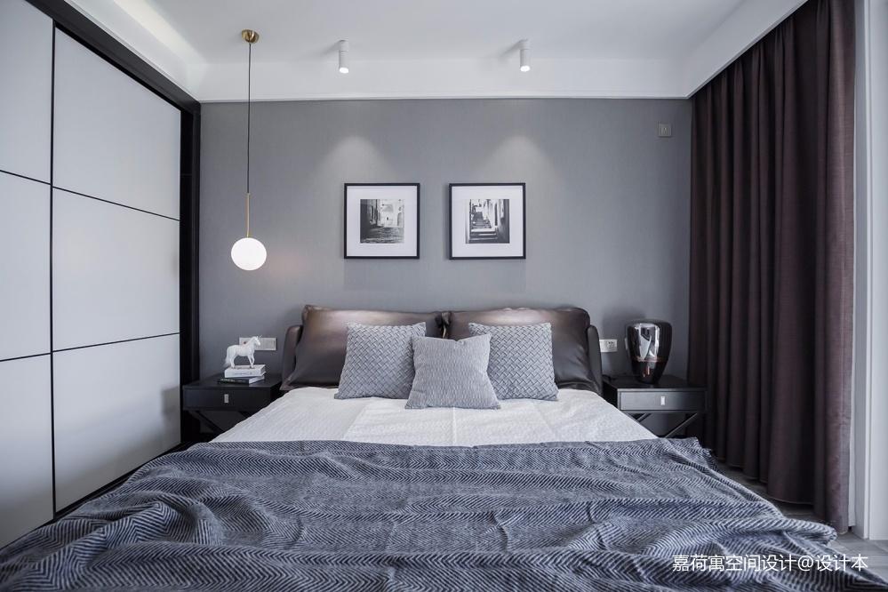 嘉荷寓 | 极简美学,还原家的定义——卧室图片