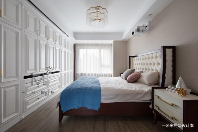 美式里的温馨学区房——卧室图片