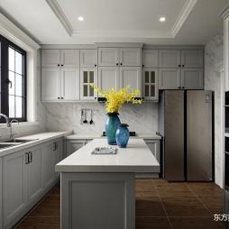 这个美式别墅温馨又温馨——厨房图片