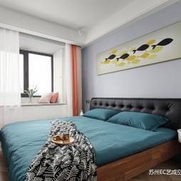北欧公寓新家——卧室图片
