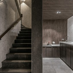 现代简约别墅豪宅——楼梯图片