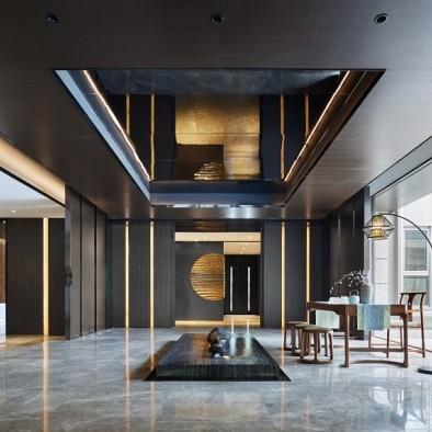 上海融创领馆一号院|空间内外的艺术共融_3855396
