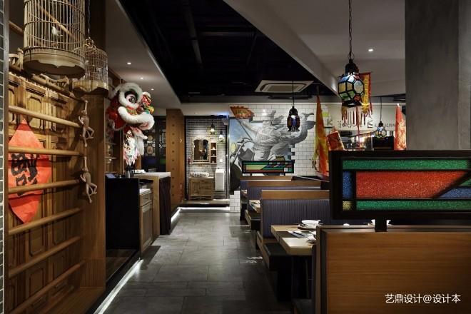 """餐饮空间设计:""""羊城记忆"""",岭南菜馆"""
