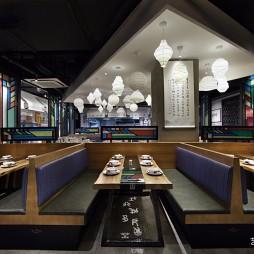 """餐饮空间设计:""""羊城记忆"""",岭南菜馆——卡座图片"""