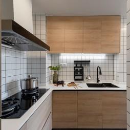 70平米现代简约—厨房设计图