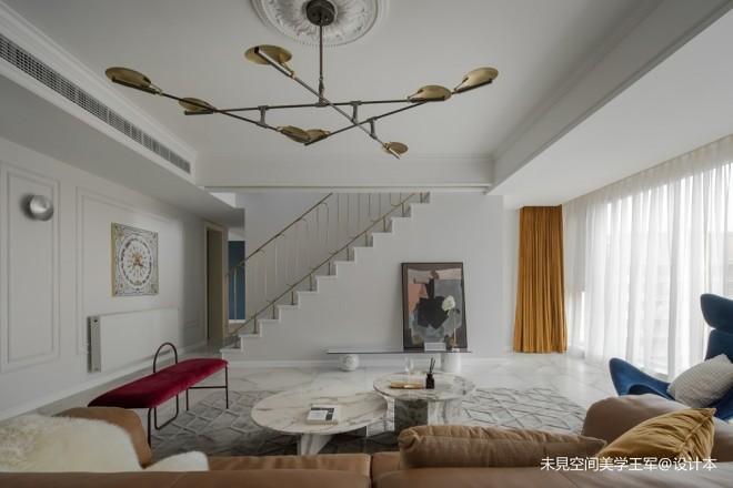 170平米三居住宅空间—客厅图片