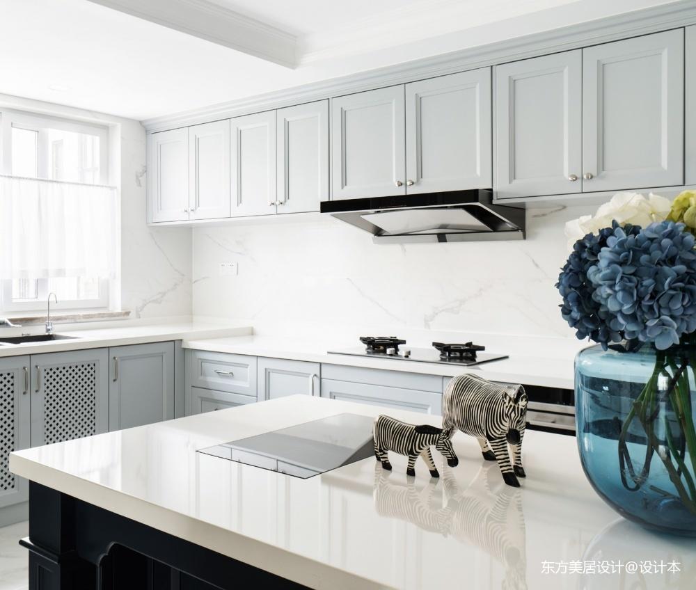 輕奢美式_獨棟別墅——廚房圖片