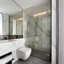 47平现代简约卫生间设计图