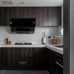 保利独墅西岸 90㎡ 与光同尘——厨房图片