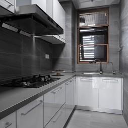160平现代简约:厨房设计图