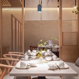 圆融微喜的餐饮空间——座位图片