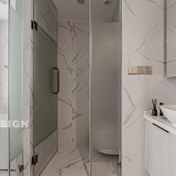 莱诗邸精装房改造简约轻奢风——卫生间图片