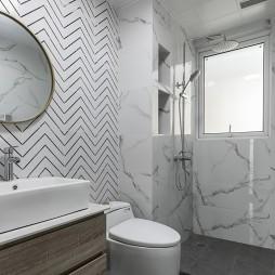 88㎡现代简约——卫生间图片