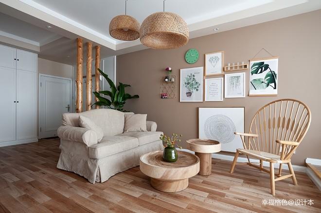 温暖的宅——客厅图片