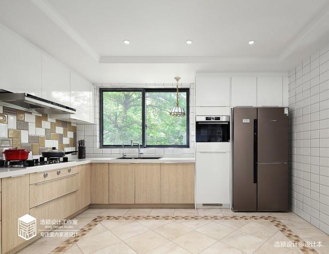美式田园复式——厨房图片