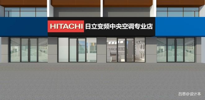 淄博展厅沿街店铺设计装修_39186