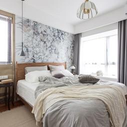 90平二居——卧室图片