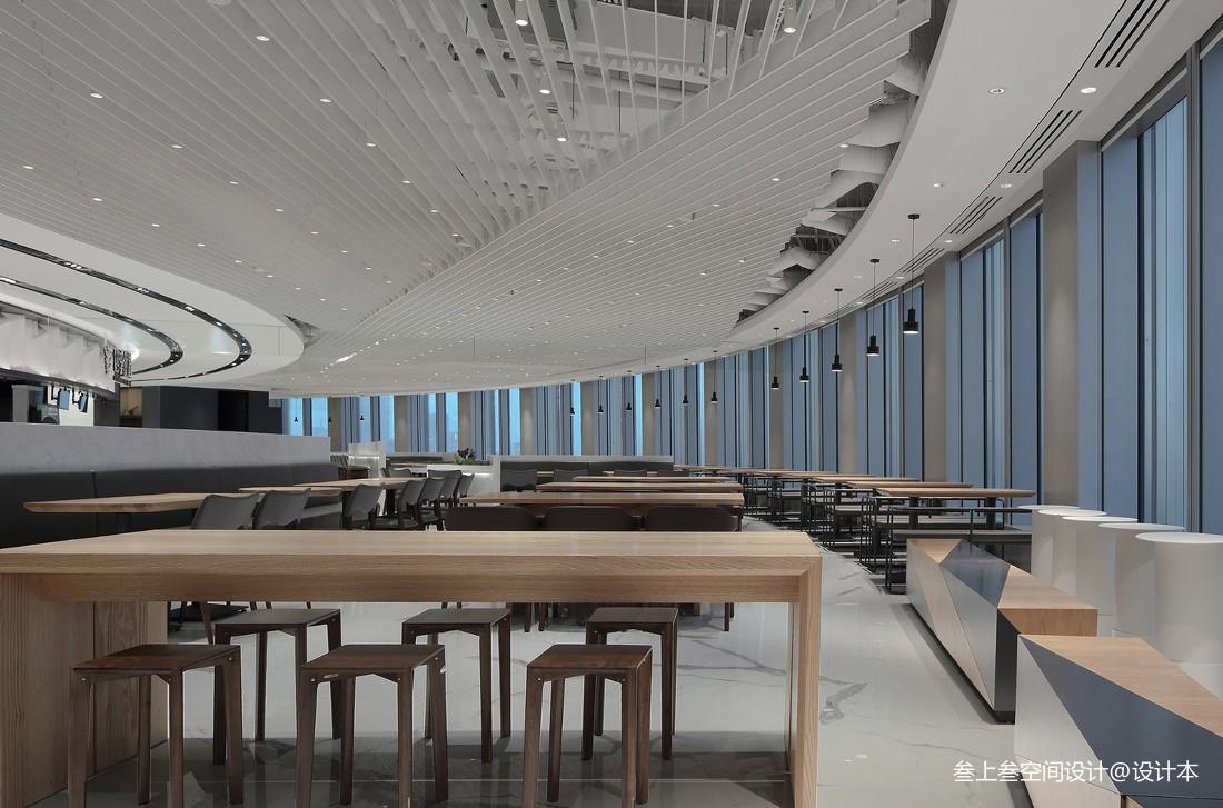 OPPO深圳湾总部员工餐厅——就餐区图片