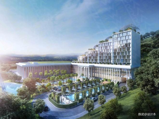东南亚文娱商业地产项目-瀑布酒店_3