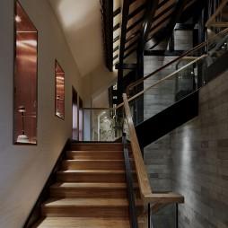 龙茶馆——楼梯图片