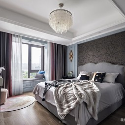 125㎡美式经典——卧室图片