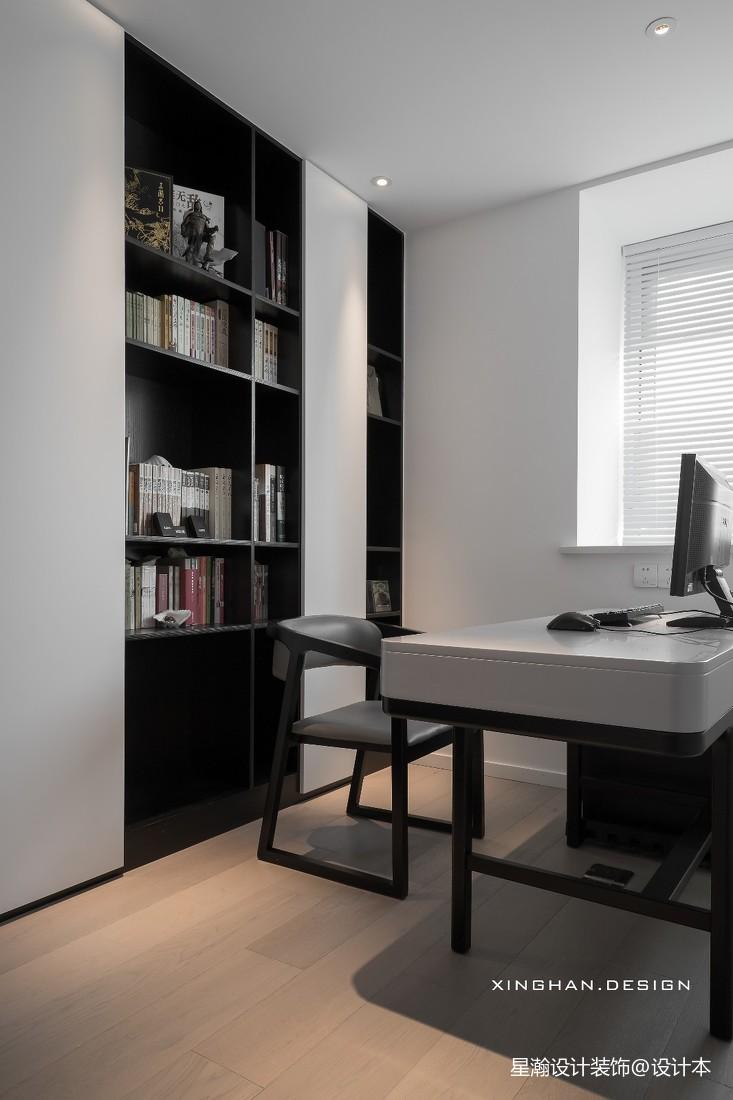 【橘子国】,暖爸的新家,温柔又治愈——书房图片