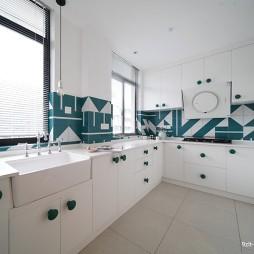 黑白镜像人生——厨房图片