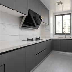 细致描绘简约风,四口之家偏爱现代主义——厨房图片