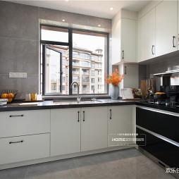 灰系简约,安静的生活感——厨房图片