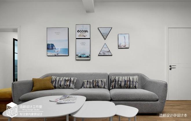 造颖设计原创实景 共鸣——客厅图片