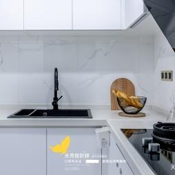 两房改三房-现代简约——厨房图片