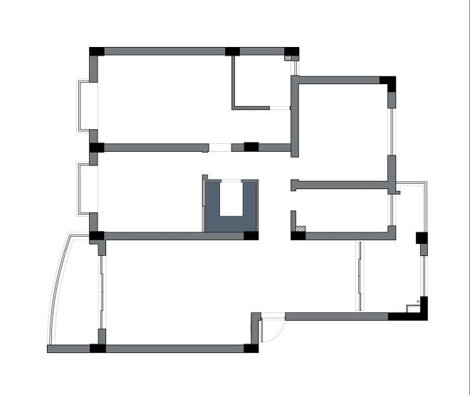 设计师在儿童房设计了2道房门_398