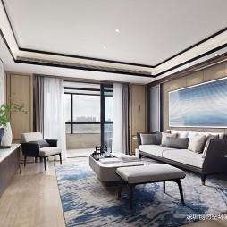 客厅图片——合肥国贸天成平层样板房