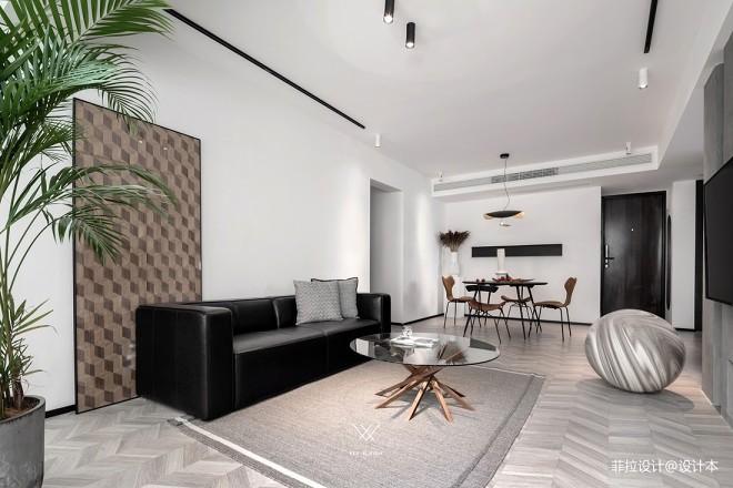 121平现代简约-客厅图片