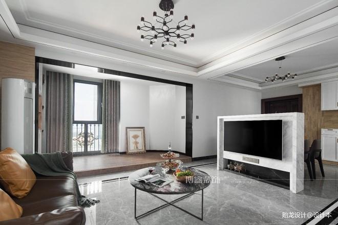 113平现代简约-客厅图片