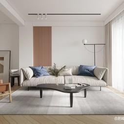 160平北欧极简-客厅图片