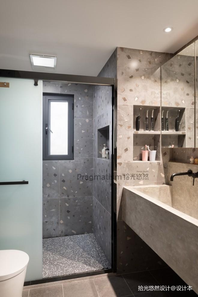 140平现代简约-卫生间图片