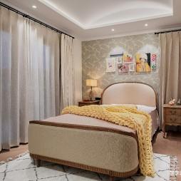 490平美式田园-卧室图片