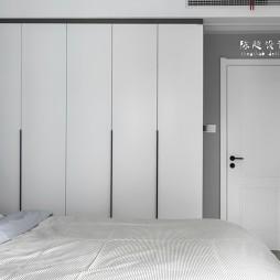 85平北欧极简-卧室图片