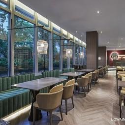 酒店餐區圖片