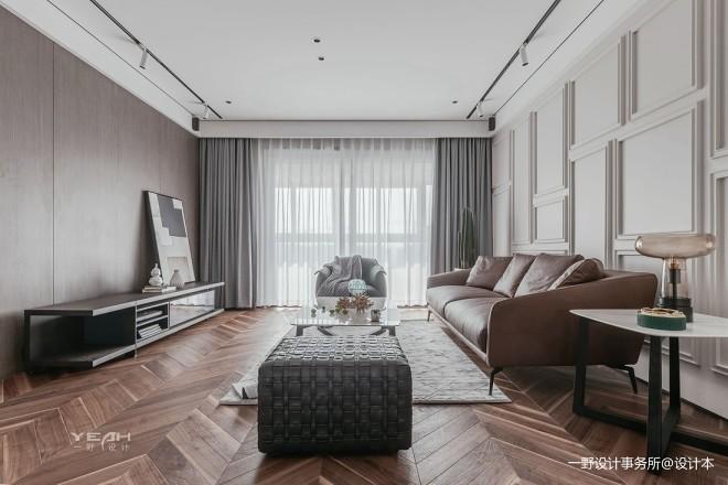 一野设计—中南锦苑|140m²|家_