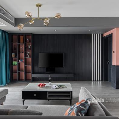 现代简约住宅,精致优雅的家|博睿设计_1590052057_4150456